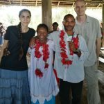 Die erste Hochzeit von gläubigen Iski